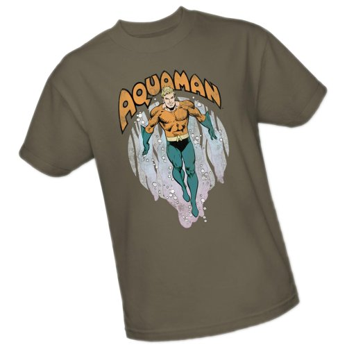 From The Depths -- Aquaman -- DC Comics Adult T-Shirt, X-Large