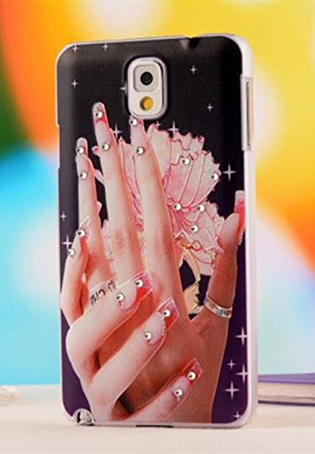 For Samsung Galaxy Note 3 Case Nancy'S Shop Colorful Painting Style 3D Hard Cell Phone Accressories Case And Covers For Unlocked Tmobile Samsung Galaxy Note 3 Iii (Both Hands)