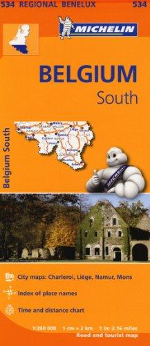 Belgique Sud, Ardenne / Zuid-Belgie, Ardennen (Michelin Regional Maps)
