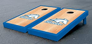 University of Alabama in Huntsville Chargers Cornhole Game Set Hardcourt Wooden by Gameday Cornhole