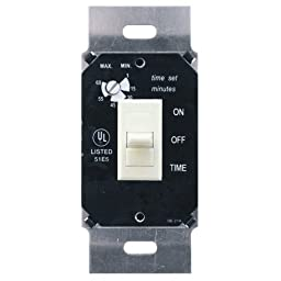 Air King AKDT63I 60 Minute Delay Timer Switch, Ivory