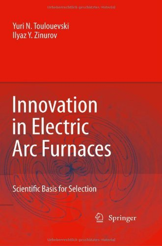Innovation In Electric Arc Furnaces: Scientific Basis For Selection 1St (First) Edition By Toulouevski, Yuri N., Zinurov, Ilyaz Yunusovich Published By Springer (2009) [Hardcover]