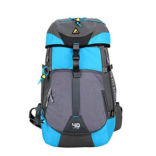 Outdoor sac d'escalade / sac en camping / randonnée sac à bandoulière / sac à dos grande capacité-bleu ciel 40L