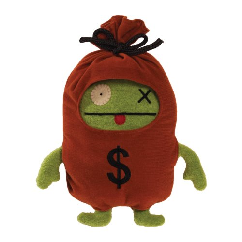 "Uglydoll Uglyverse-Money Bags Ox 11"" Plush"