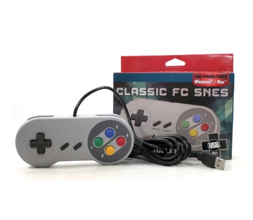 Gtron Retro USB Super Classic Controller For PC/Mac