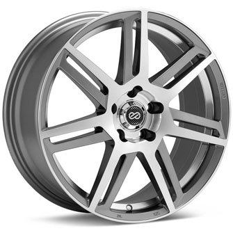 Enkei ALETTA Silver Machine (17x7.5 +38 5x114.3) 