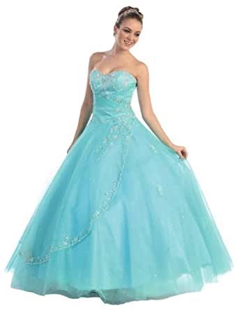 Amazon.com: Faironly M25 Quinceanera Formal Prom Dress ... - photo #24