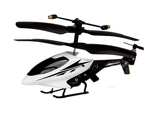 The Flyer's Bay Max Nano 3.5 Channel Nano Helicopter(Smallest Known) (White)