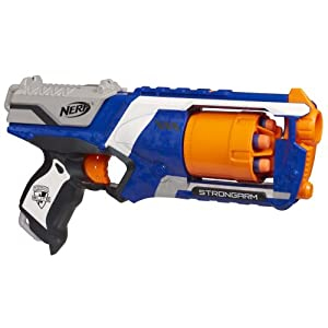 Amazon.com: Nerf N-Strike Elite: Strongarm Blaster (Colors may vary
