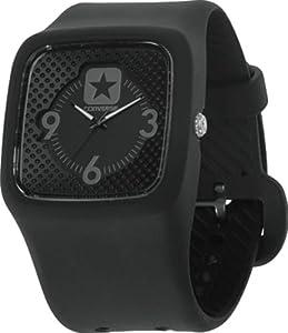 Converse VR030-005 40mm Black Plastic Band & Case Men's & Women's Watch