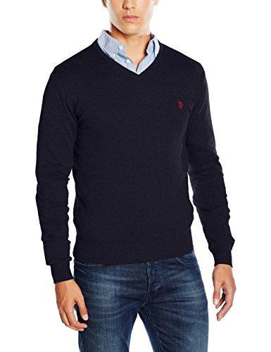 U.S.POLO ASSN. Herren T-Shirt, Gr. X-Large, Marineblau