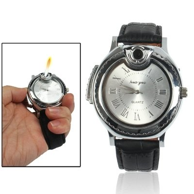 sunsky-reloj-de-estilo-reloj-de-pulsera-de-butano-encendedor-de-cigarrillos-llama-flama-antorcha-par