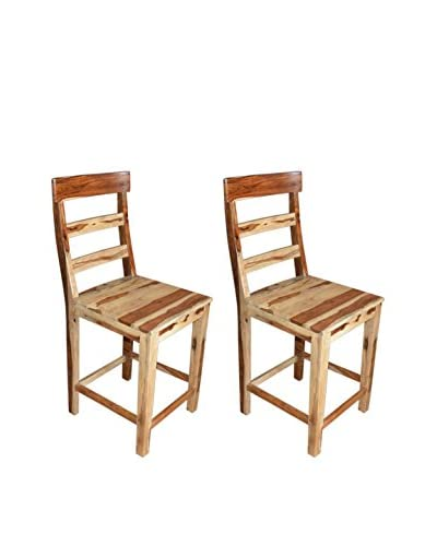 Coast to Coast Set of 2 Counter-Height Chairs