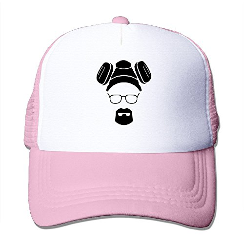 [SAXON13 Unisex Baseball-caps Meshback Breaking Bad Cap Hats Pink] (Bad Habit Costumes)