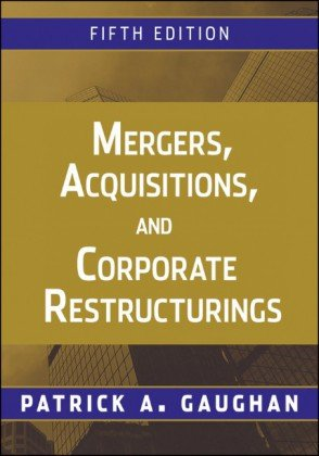 Image for Mergers, Acquisitions, and Corporate Restructurings