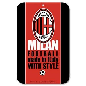 AC Milan 11 X 17 Sign