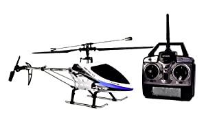 Newest Double Horse R/C Helicopter 9117 Large Single Rotor 4 CH BLUE R/C 2.4GHz