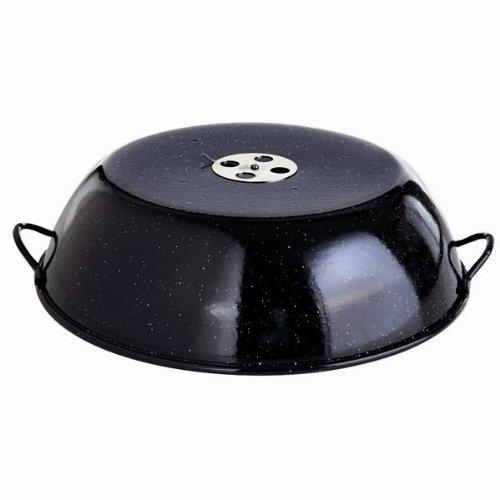 Paella World, Coperchio smaltato, per barbecue, Standard
