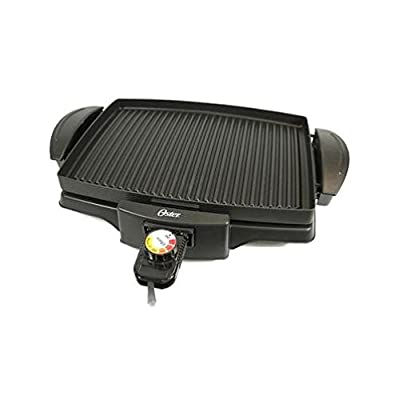 Oster 4767 Non-Stick Indoor Grill, 220-volt, Black from Oster