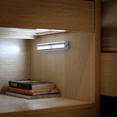 Aglaia luce armadio led lampada sensore movimento - Lampade per scale ...