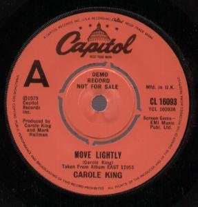 MOVE LIGHTLY WHISKEY (45 7) by CAROLE KING