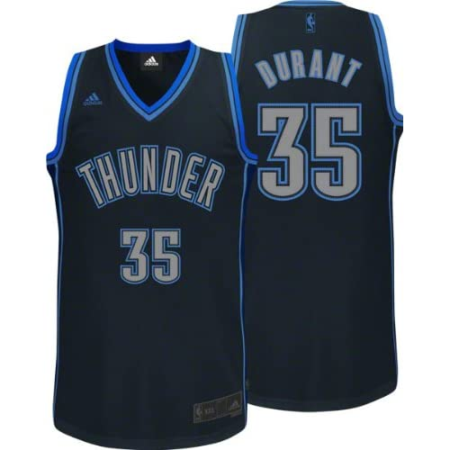 20ae16134 NBA Mens Oklahoma City Thunder Kevin Durant Graystone Swingman Jersey  (Grey