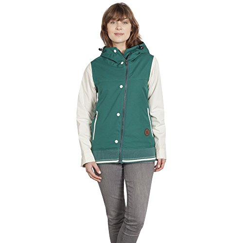 Holden Rydell Ski Snowboard Jacket Emerald/Bone Womens Sz S