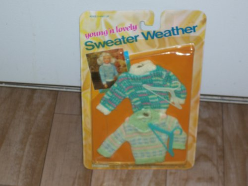 "Young ""N Lovely Sweater Weather Set of 2 Sweaters for 11 1/2"" Dolls"