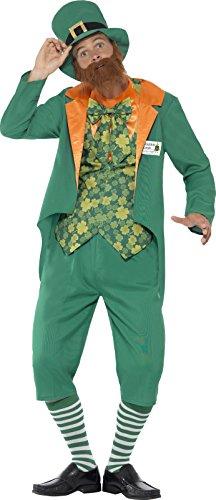 smiffys-43400xl-sheamus-craic-kostum-jacke-mock-westee-hose-mit-angebrachtem-bum-hut-und-bart