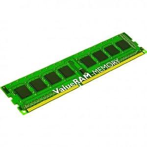 Kingston ValueRAM 16GB 1600MHz DDR3L PC3-12800 ECC Reg CL11 1.35V with TS VLP DIMM DR x4 Server Memory (KVR16LR11D4L/16)
