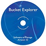Bucket Explorer Software for Amazon S3 - Simple Storage Service, with DVD