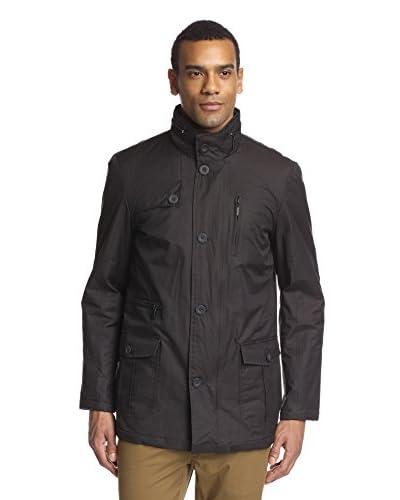 Lindbergh Men's Jacket with Zipper Details