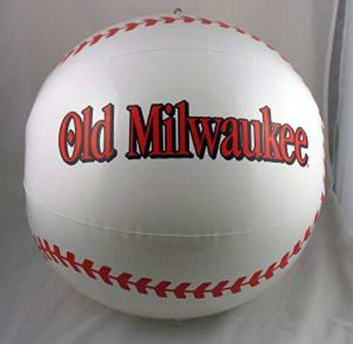 old-milwaukee-beer-baseball-18-in-inflatable-sign