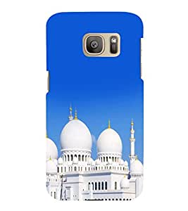 printtech Allah Muslim God Mosque Back Case Cover for Samsung Galaxy S7 :: Samsung Galaxy S7 Duos with dual-SIM card slots