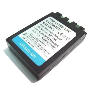 Olympus Li-10B LI10B Battery 1090mAh by Pexell