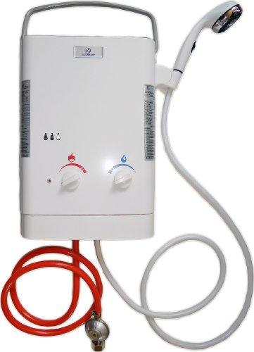 Eccotemp L5 Propan/Butan Gas Durchlauferhitzer mit Dusche