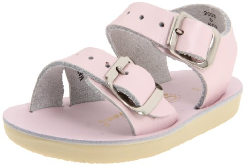Salt Water Sandals by Hoy Shoe Sea Wees,Pink,1 M US Infant