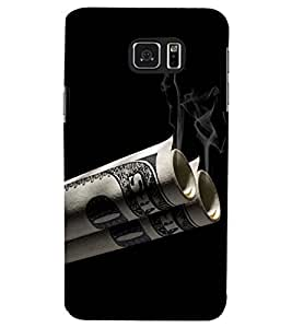 PRINTSWAG SMOKE Designer Back Cover Case for SAMSUNG GALAXY NOTE 5 EDGE