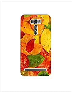 Asus zenfone 2 laser ze601kl ht003 (156) Mobile Case by Mott2 - Multicolor Le... (Limited Time Offers,Please Check the Details Below)