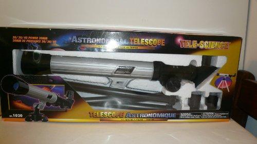 Tele-Science Astronomical Telescope 20 / 30 / 40 Power 30Mm Astronomical Telescope With Diagonal Mirror And Tripod