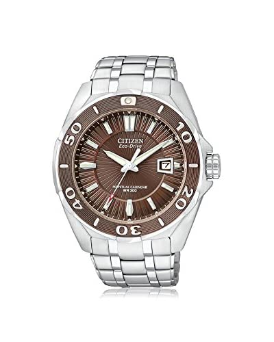 Citizen Men's BL1259-51X Silver Tone/Brown Stainless Steel Watch