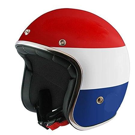 MT casque casque jet le mans drapeau hollandais