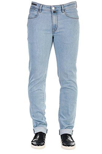 PT05 Pantaloni Jeans Uomo Primavera Estate Blu Art D6G4 CA12 TAILOR CH14 P16