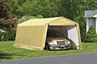 ShelterLogic 10 x 20- Feet Auto Shelter,Tan from ShelterLogic