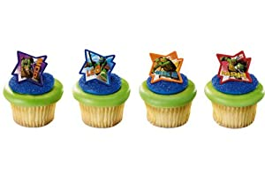 Teenage Mutant Ninja Turtles - Tmnt Cupcake Rings (12)