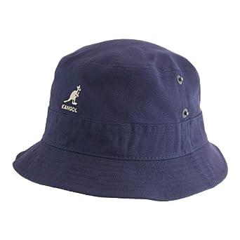 Kangol Canvas Lahinch Bucket Hat Navy X-LARGE