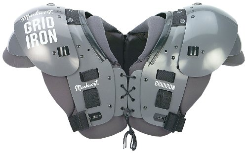 Markwort Adult GRIDIRON Football Shoulder Pads, Xlarge