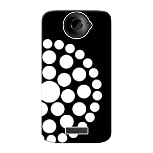Mobile Back Cover For HTC One X+ (Printed Designer Case)