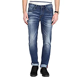 SF Jeans by Pantaloons Men's Jeans 205000005567876_Medium Blue_36