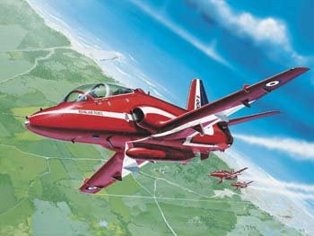 BAe Hawk T Mk 1 Red Arrows Aircraft 1/72 Revell Germany